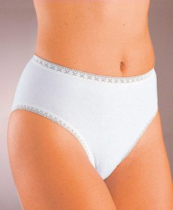 Set di 3 slip mini + 1 GRATUITO. - Bianco